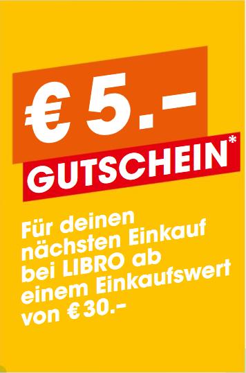 5 € Gutschein ab 30 €