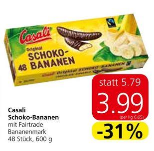 Casali Schoko Bananen (600 g)