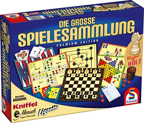 Schmidt-Spiele Die große Spielesammlung Premium Edition