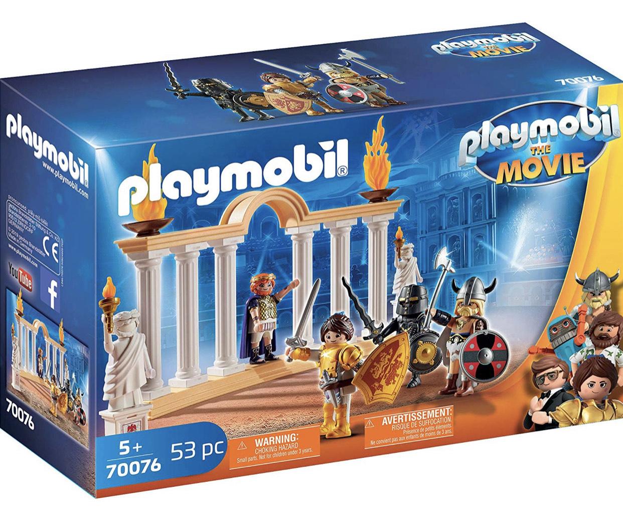 PLAYMOBIL:THE MOVIE 70076 Kaiser Maximus im Kolosseum