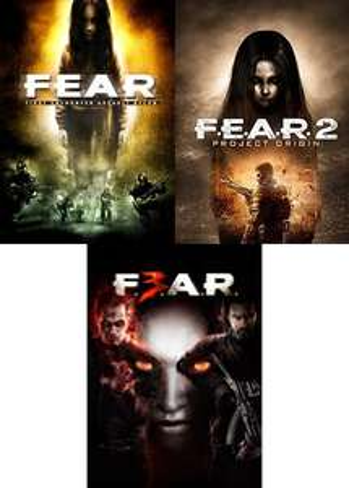 F.E.A.R.-Bundle (1.- 3.Teil der Serie)