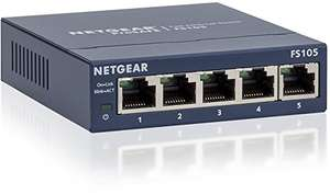 NETGEAR 5-Port LAN Switch (GS305E + FS105)