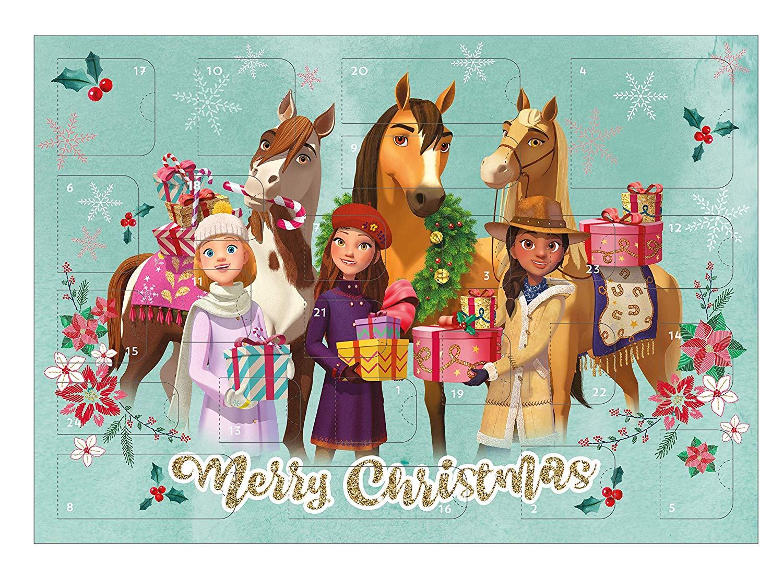 Spirit Adventskalender für Mädchen mit 24 Schreibwaren PLUSPRODUKT