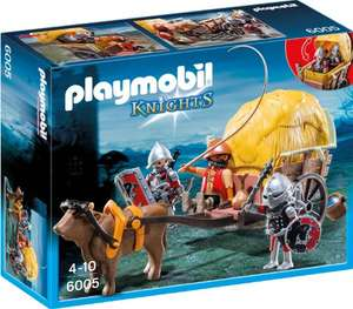 Playmobil Knights - Tarnkutsche der Falkenritter