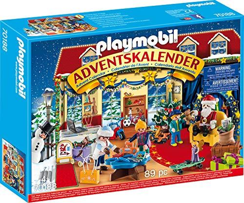 Playmobil Adventskalender - Weihnachten im Spielwarengeschäft, 89-teilig