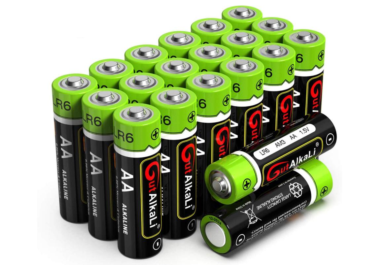 20x AA oder AAA Batterien