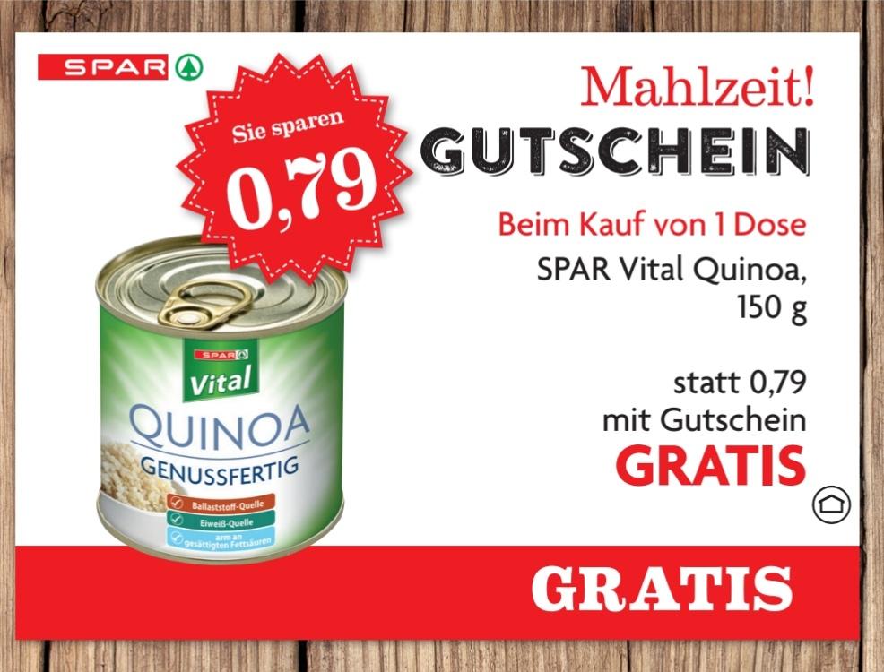 [SPAR] Freebie - Gratis Dose Spar Vital Quinoa