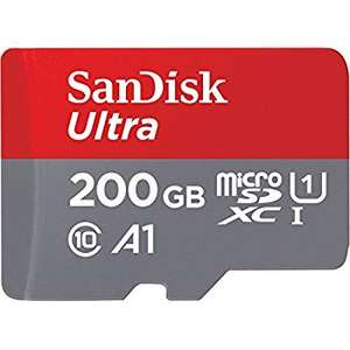 (Amazon Prime) SanDisk Ultra 200GB microSDXC Speicherkarte (Class 10, U1, A1, FFP)