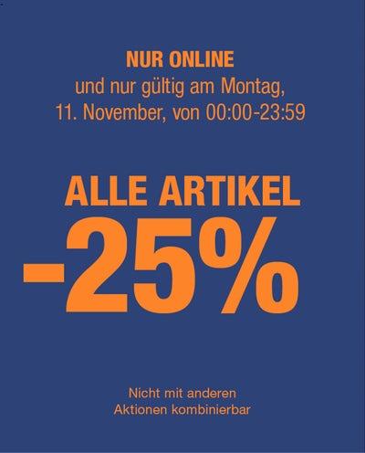 [Dressmann] - 25% auf alles bei Dressmann am 11.11