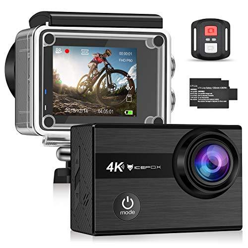 (Blitzangebot) Icefox Action Cam 4K (Verkauf durch Amazon)