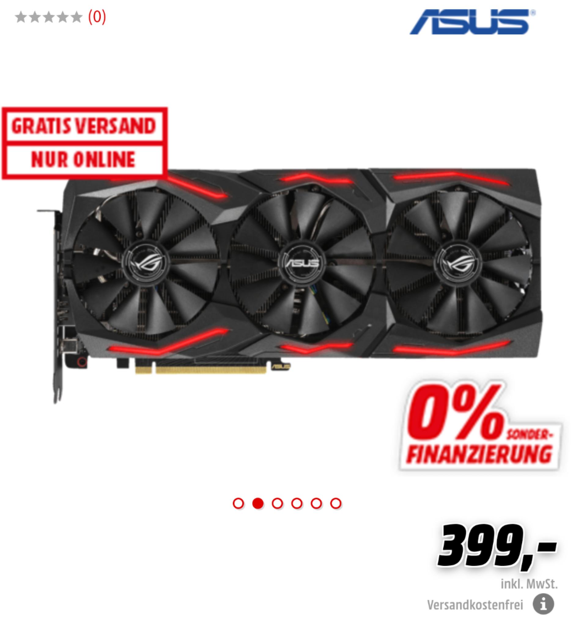 ASUS Grafikkarte ROG STRIX RTX2060S A8G GAMING 8GB [Mediamarkt]