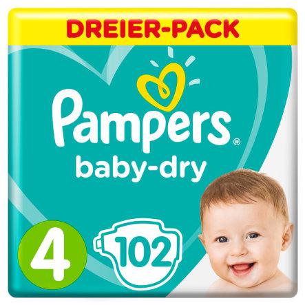 Lokal Merkur Deutsch Wagram: Pampers BabyDry (versch. Größen) 102 Stk. (0,108 pro Stück)