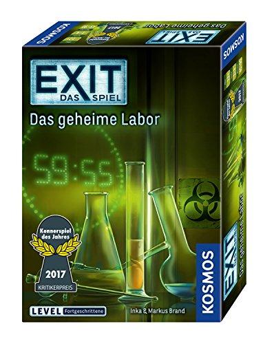 2x EXIT - Das Spiel (Das geheime Labor, Der Tote im Orient-Express, Die unheimliche Villa, Die verbotene Burg)
