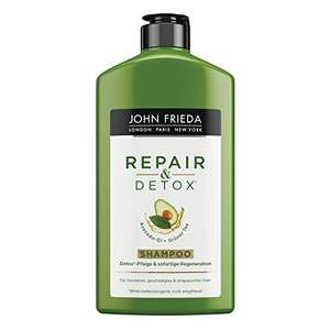 AMAZON.de l Beauty-Jäger l 2 Stück John Frieda Repair & Detox Shampoo
