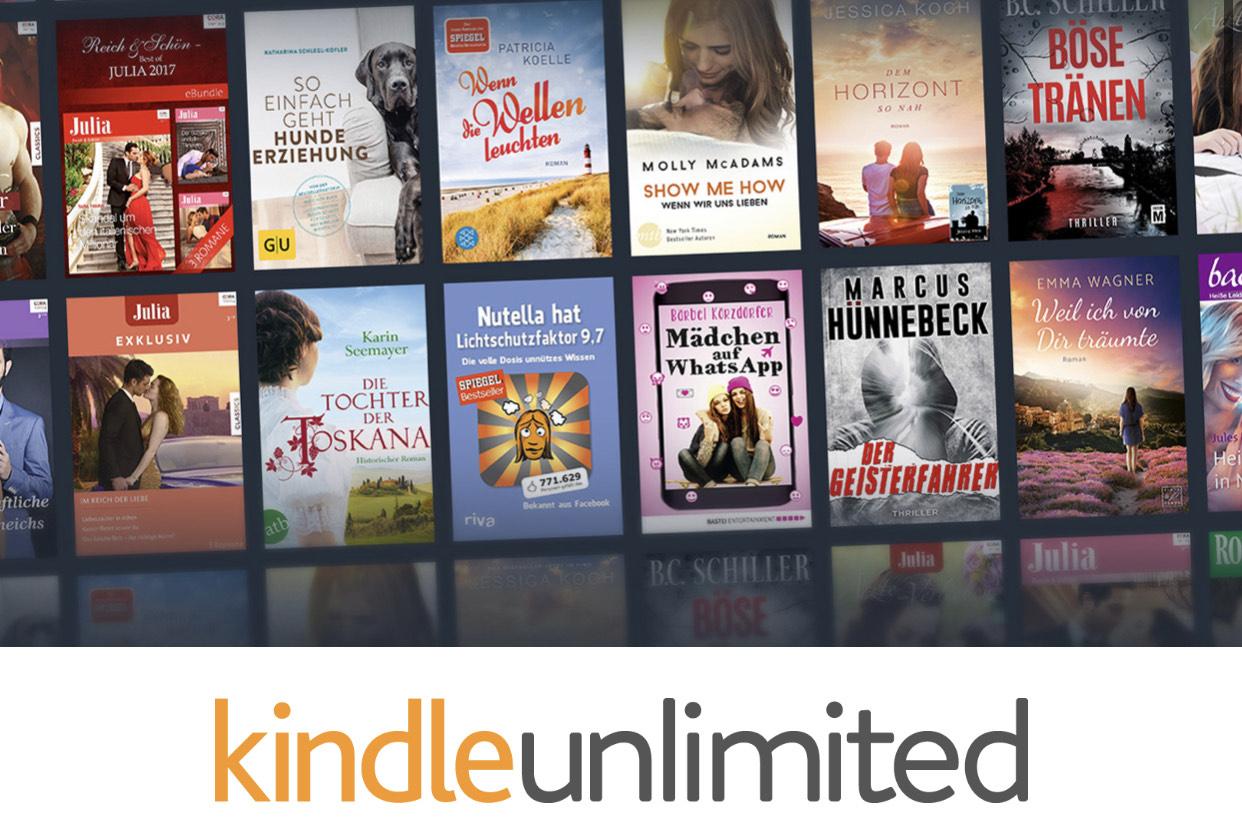 Kindle Unlimited 3 Monate kostenlos