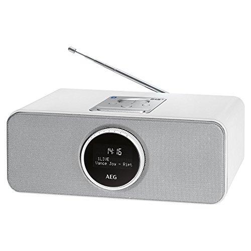 AEG SR 4372 DAB+/UKW Stereoradio (Weiß + Schwarz)