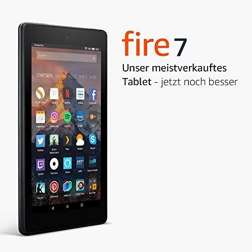 Fire 7 Tablet mit 8 GB ohne Spezialangebote (vorherige Generation 7.) - 16GB mit Spezialangeboten: 35,28 €