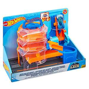 Preisjäger Junior: Hot Wheels - City Super Spin Parkhaus