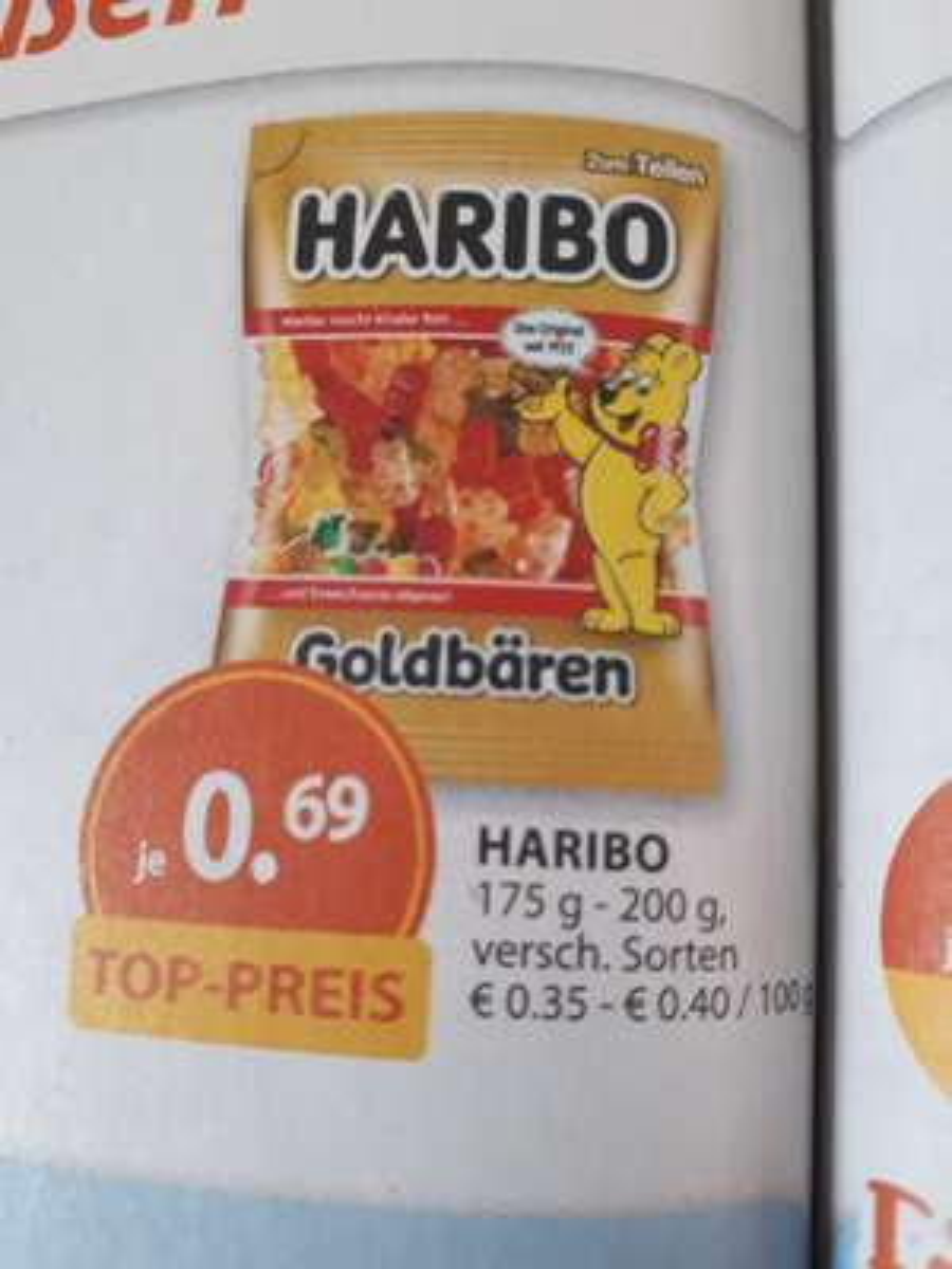 Haribo 200g bei Müller