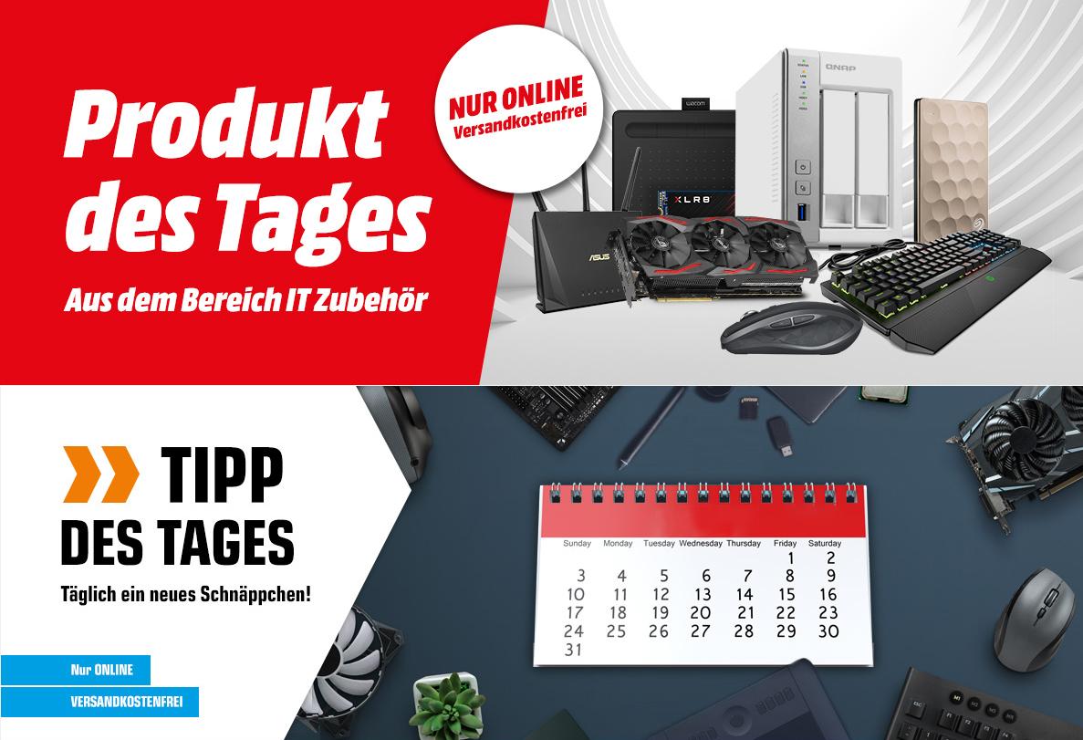 [ Sammeldeal Mediamarkt.at / Saturn.at] - Produkt/Tipp des Tages (IT-Zubehör)