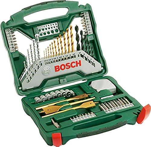 Bosch X-Line Bohrer- und Bitset + Steckschlüsselsatz, 70-tlg.
