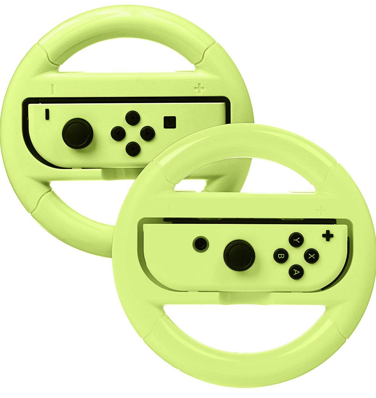 AmazonBasics - Lenkrad für die Nintendo Switch 2er Pack