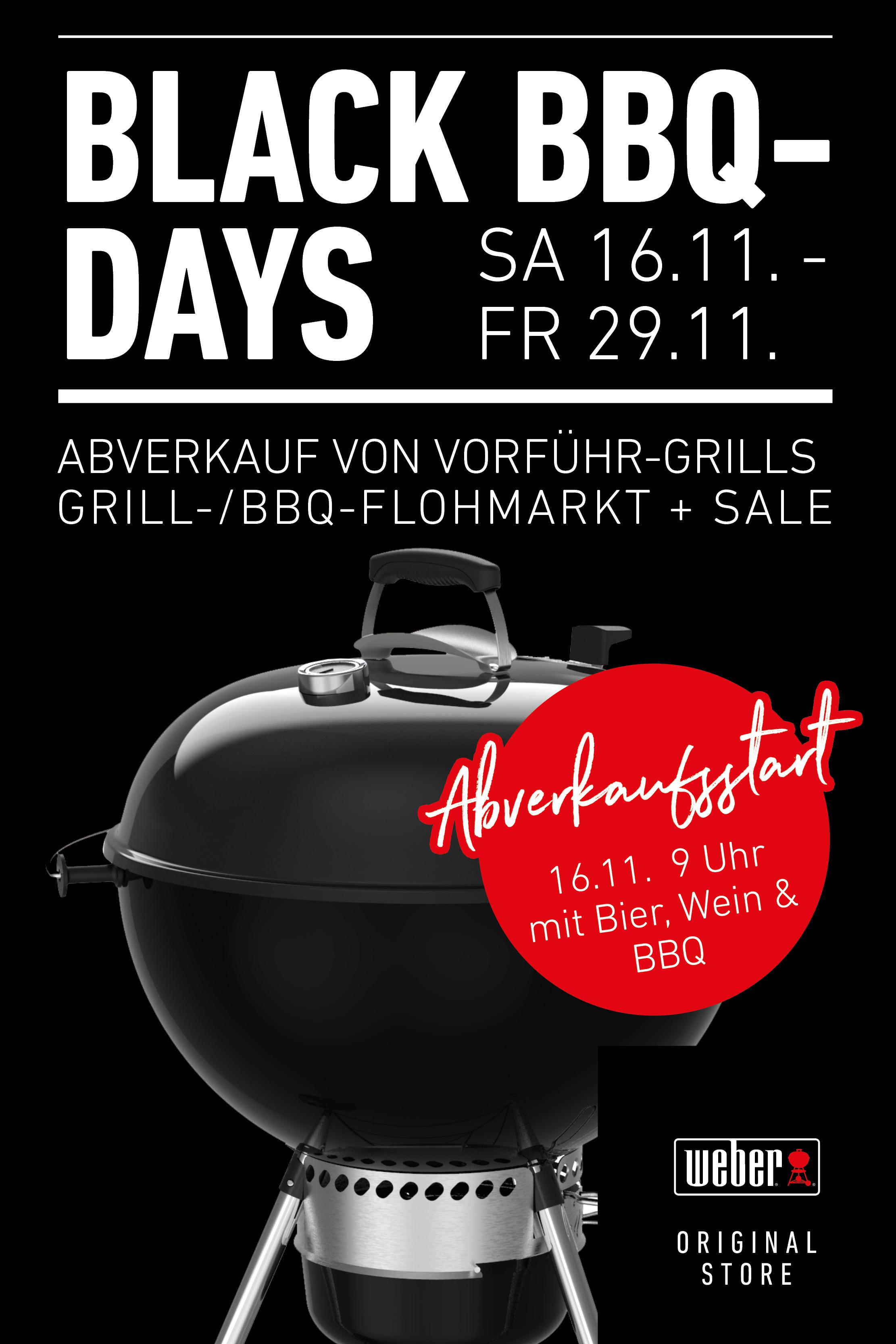 Weber Abverkauf - BBQ Daxs