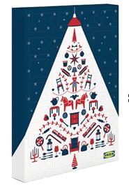 IKEA Adventkalender um 12,99 € kaufen --> 10 €IKEA Gutschein + 1 € Cashback + Schokolade