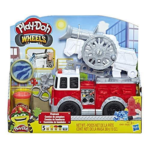Hasbro Play-Doh Wheels Feuerwehrauto (E6103)