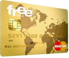 Es ist wieder so weit: Kostenlose MasterCard Gold + 45€ geschenkt!