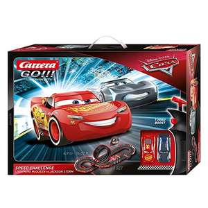 Carrera GO!!! Set - Disney Pixar Cars Speed Challenge