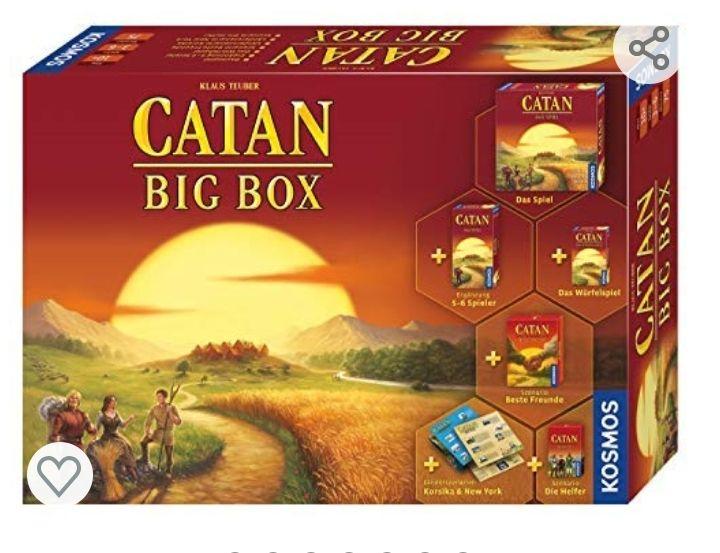 Die Siedler von Catan, Big Box; 3-6 Spieler