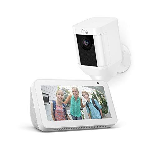 Echo Show 5 + Ring Spotlight HD Cam