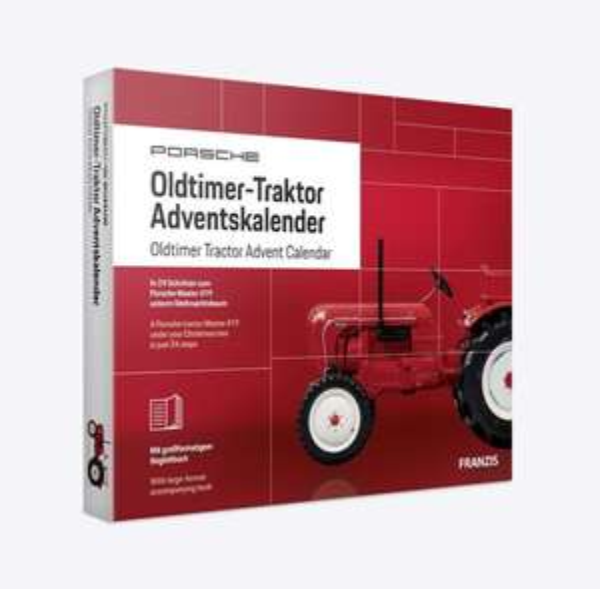 Porsche Oldtimer-Traktor Adventskalender 2019