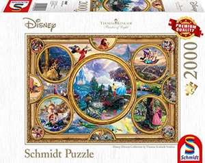 Schmidt Spiele Puzzle - Disney Dreams Collection 2000 Teile
