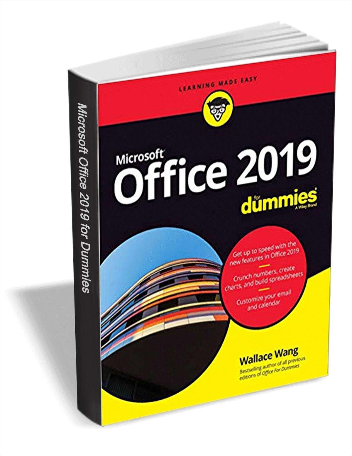 Kostenlos: Office 2019 For Dummies (eBook) + viele andere!