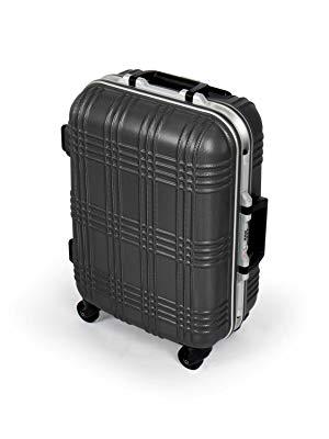 (Amazon Marketplace) Hartschalen Handgepäck Koffer mit Aluminium Rahmen (TSA Schloss, 53 x 39 x 20 cm)
