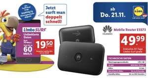 Lidl Connect Surf mit Router!!!