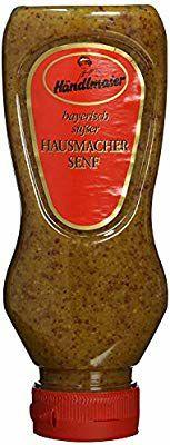 [Prime only] Händlmaier's Hausmachersenf süß Squeeze-Flasche, 225 ml (amazon pantry)