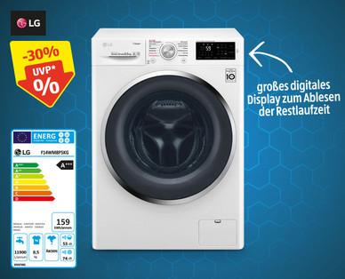 www.HOFER.at l LG Waschmaschine F14WM8P5KG 8.5 kg Steam (Dampf) Fassungsvermögen l Offline oder Lieferservice ab 28.11.2019
