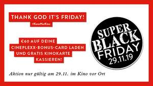 Cineplexx Black-Friday & cybermontag aktion
