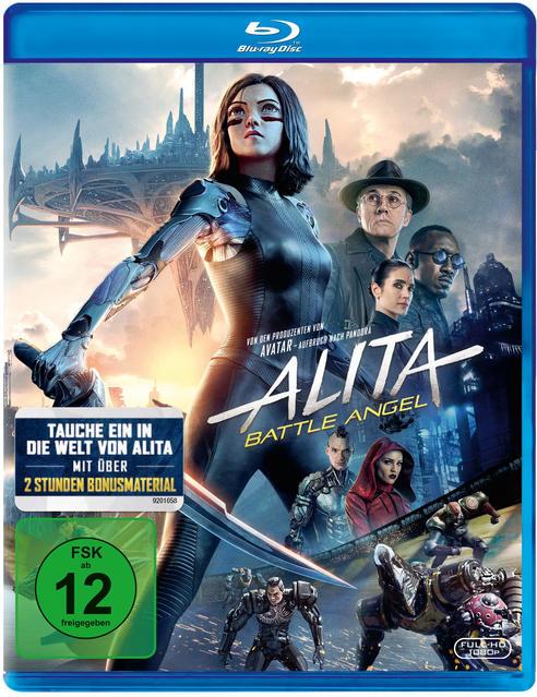 Alita: Battle Angel (BD)