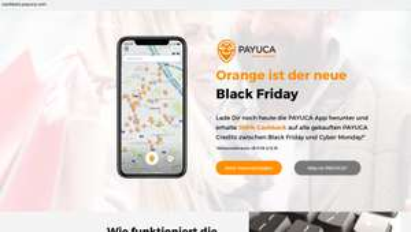 100% Cashback bei PAYUCA