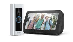 Ring Video Doorbell PRO inklusive Echo Show 5
