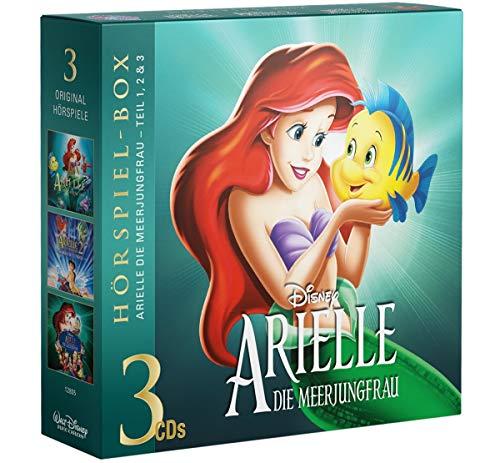 Arielle die Meerjungfrau-Fan-Box - Alle 3 Teile auf 3 CDs als Hörspiele