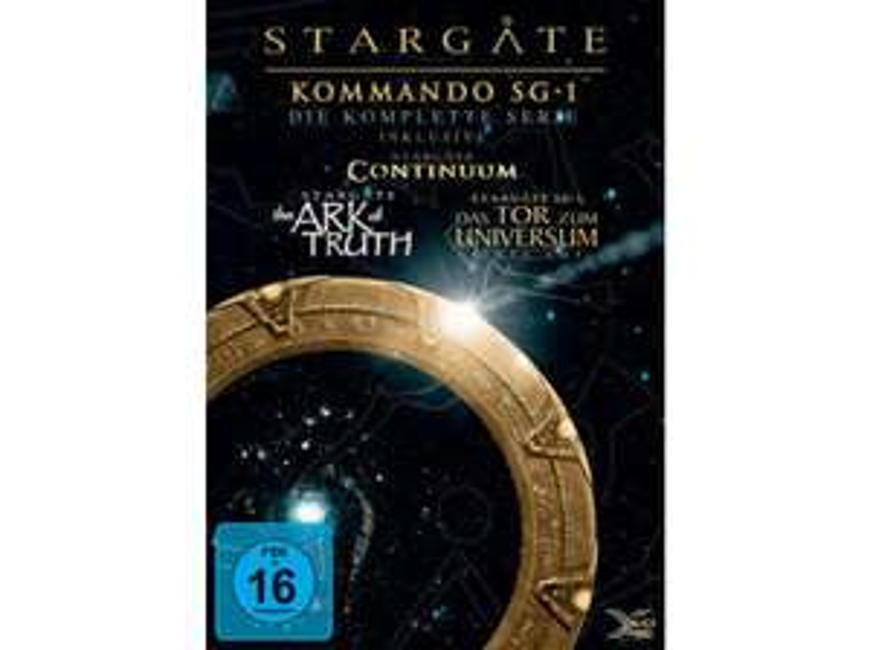 [MediaMarkt/Saturn] Stargate Kommando SG1 Box DVD