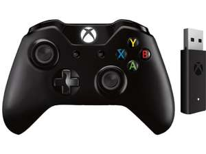 [Saturn + Mediamarkt Black Week] Microsoft Xbox One Wireless Controller inkl. Wireless Adapter schwarz