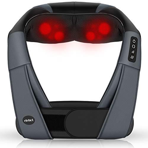 Amazon - Massagegeräte Elektrisch 4D Nackenmassagegerät mit Wärmefunktion für shiatsu Schulter Fuß Rücken für 27,99 Euro