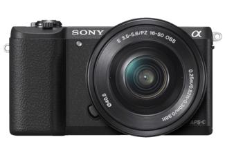 SONY Alpha 5100 mit Objektiv 16-50mm f3.5-5.6