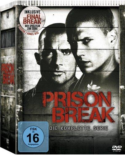 Prison Break - Die komplette Serie (inkl. The Final Break) Standard Version 24 Disks